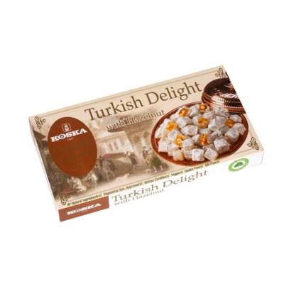 Koska Turkish Delight w/Hazelnut 12/500 gr