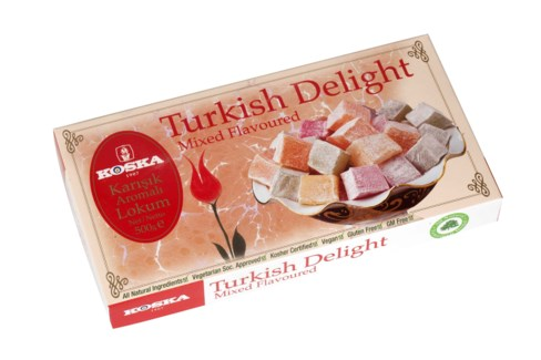 Koska Turkish Delight Mixed Flavored 12/500 gr