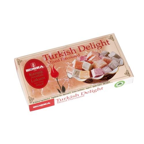 Koska Turkish Delight Mixed Flavored 12/500 gr
