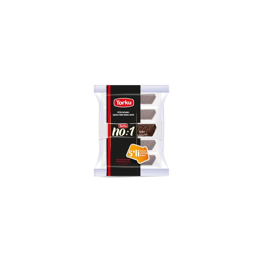 Torku NO:1 Bitter Chocolate Coated Wafer 16x(5x35gr)
