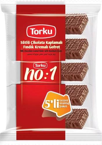 Torku NO:1 Chocolate Wafer Multi w/Hazelnut Cream16x(5x35gr)
