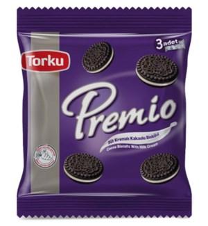 Torku Premio Cocoa Biscuits 8x(3x86 gr)