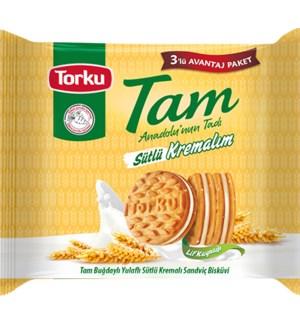 Torku Tam Biscuit w/Milky Cream 12/249 gr
