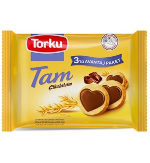 Torku Tam Chocolate Biscuits 12x(3x83 gr)