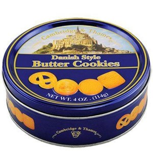 Cambridge & Thames Butter Cookies 24/4 oz
