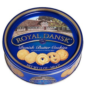 Cambridge & Thames Butter Cookies 12/12 oz