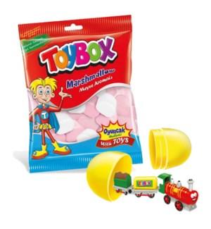 Toybox Marshmallow Vanilla & Strawberry w/Toy 36/120 gr