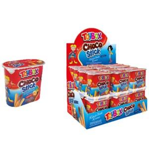 Toybox Chocstick Hazelnut w/Breadstick 12/56 gr