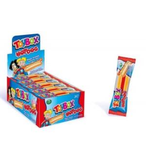 Toybox Hotdog Gummy Candy 24/20 gr