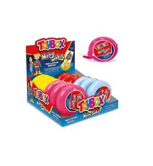 Toybox Strip Gum Fruit Flavor 12/35 gr