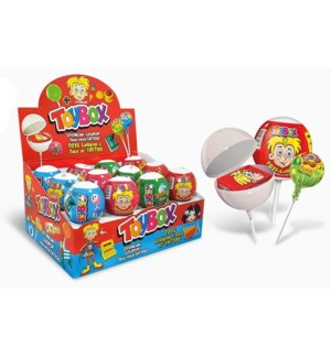 Toybox Lollipop w/Toy Stand 2x(43/11gr)