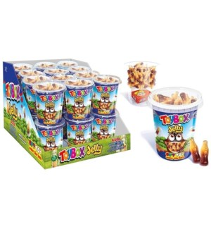 Toybox Gummy Candy Cola (Cup) 24/100 gr