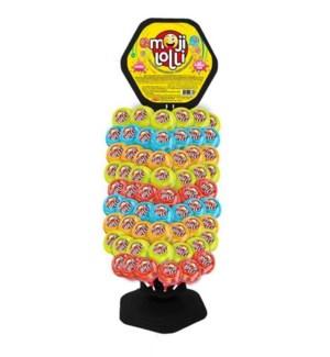 Moji Lollypop Stand 120pcs