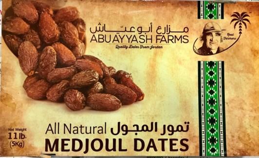 Abu Ayyash Medjool Dates Large 11 lb