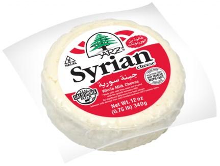 Arz Syrian Cheese 12/12 oz
