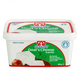 Dodoni Goat Feta (tub) 12/400 gr