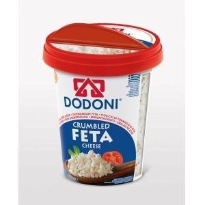 Dodoni Crumbled Feta 12/5 oz