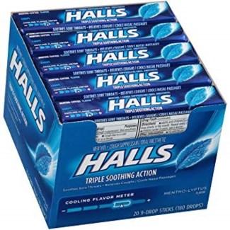 Halls Candy 12pk