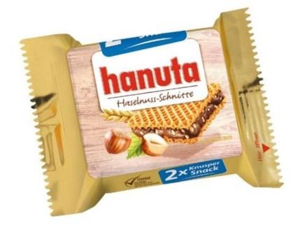 Ferrero Hanuta Bars 18/44 gr