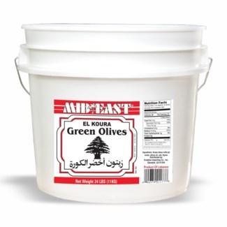 Black Olives Lebanese 24 lb