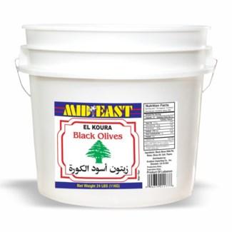 Green Lebanese Olives 24 lb
