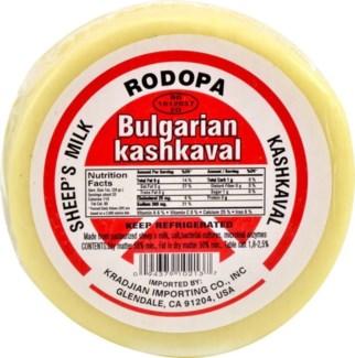 Rodopa Bulgarian Kashkaval Mini (per lb) Soft #181903
