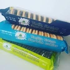 Vanilla Cream Sandwich Cookies 16/369 gr