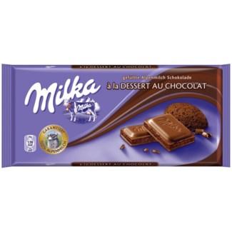 Milka Au Chocolate Bar 22/100 gr