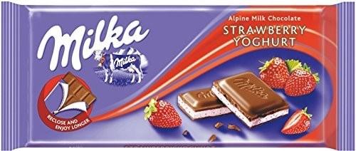 Milka Strawberry Chocolate 22/100 gr