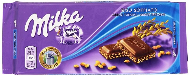 Milka Crispy Chocolate 22/100 gr