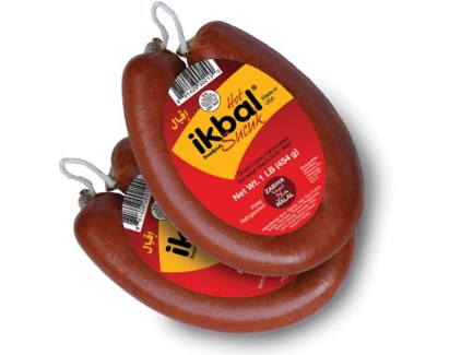 Ikbal Ring Soujuk Hot 12/1 lb