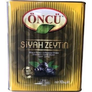 Oncu Black Olives M CAN 10 kg