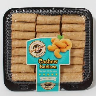 Sajouna Cashew Finger Baklava 15 oz