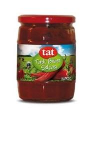 Tat Mild Red Pepper Paste 12/580 gr