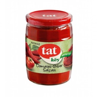 Tat Tomato and Pepper Paste Mix 12/580 gr