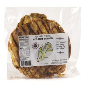 Crunchy Pita Red Pepper 12/6.5 oz