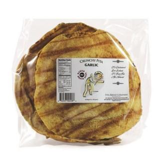 Crunchy Pita Garlic 12/6.5 oz