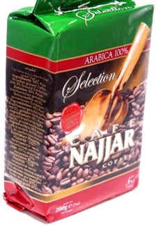 Najjar Coffee w/Card 20/200gr