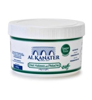 Al Kanater Halva SUGAR FREE w/Pist. 12/454 gr