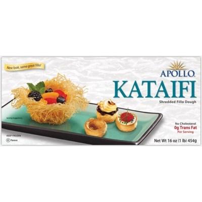 Apollo Kataifi Uncooked 12/1 lb