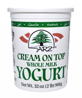 Arz Yogurt (Cream on Top) 6/2 lb