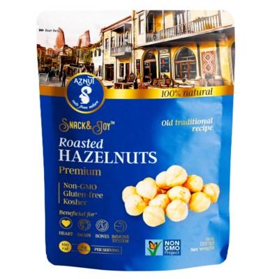Aznut Rst. Hazelnuts 12/8 oz
