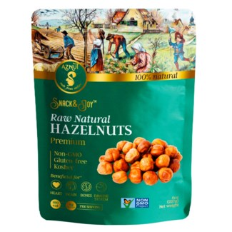 Aznut Raw Hazelnut 20/8 oz