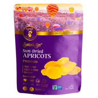 Aznut Dried Apricots 15/6 oz