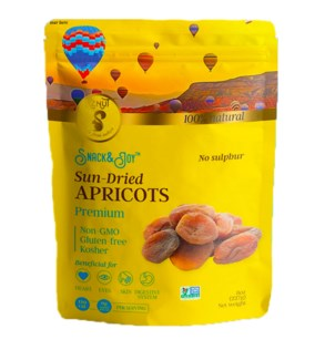 Aznut Dark Dried Apricots 12/6 oz