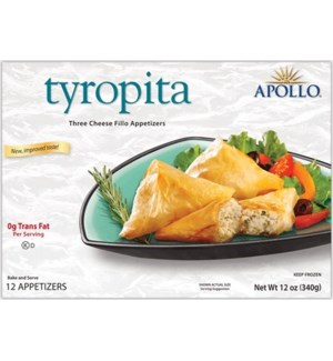 Apollo Cheese Appetizers 12/12 pcs
