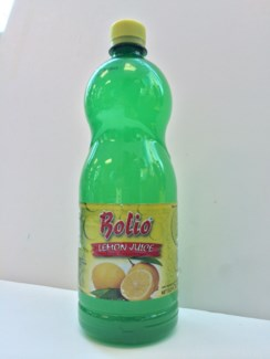 Bolio Lemon Juice 12/33.5 fl oz