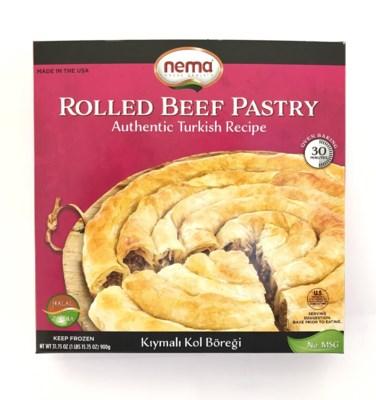 Nema Rolled Beef Pastry (Kol Boregi) 8/900 gr
