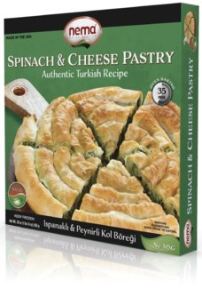 Nema Spinach & Cheese Roll 8/850 gr