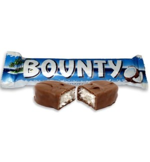 Bounty Chocolate Bars 24/57 gr